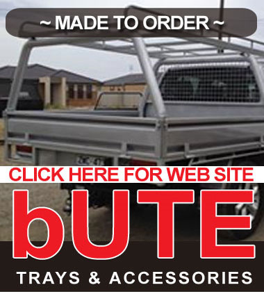 bUTE Trays and Accessories